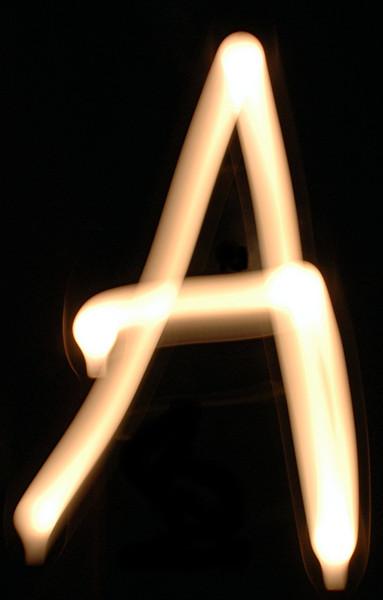 Numbers & ABC Light Bulb