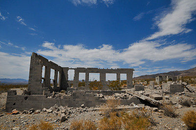 Rhyolite, Nevada and Death Valley, CA