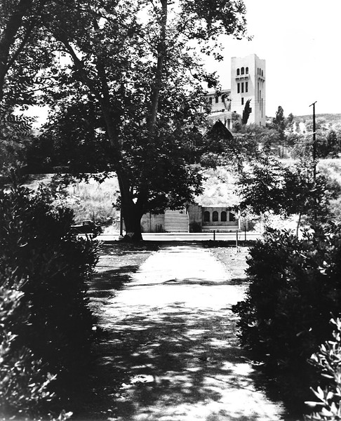 Southwest Museum from Base of Hill