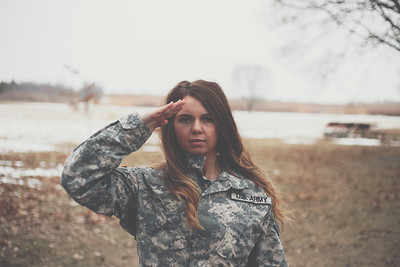 alexis delaney  |  national guard  |  febuary 2018.
