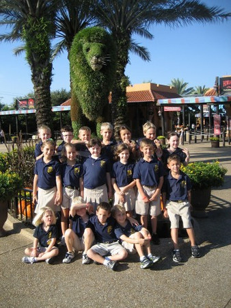 1st grade goes to Busch Gardens 2011