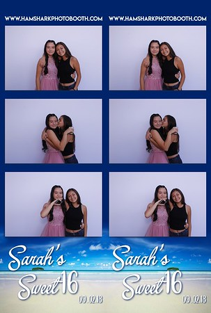 Sarah's Sweet 16