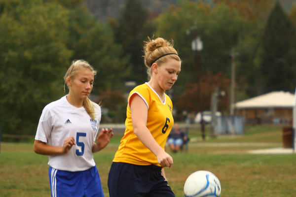 2013 Lady Panthers vs Elkview 10/11/13