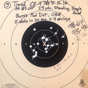 Pistol Range 5-5-16 CZ-97
