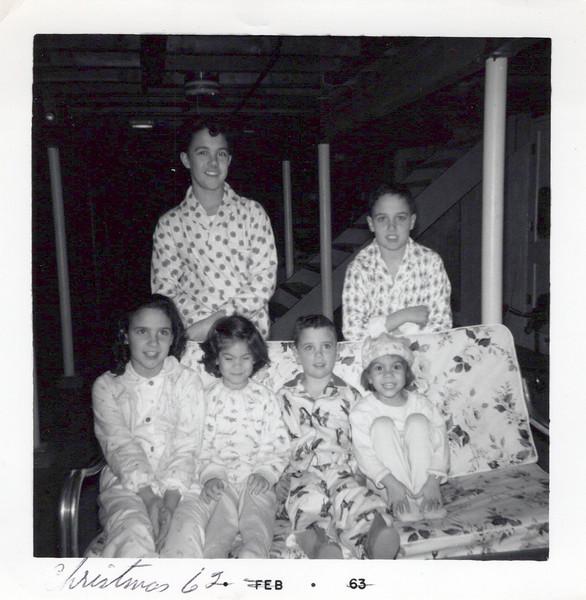 1962, Butch, Ken, Teri, Diane, Kris and Marsha.jpeg
