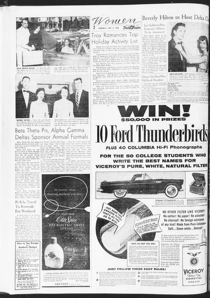 Daily Trojan, Vol. 47, No. 65, January 05, 1956