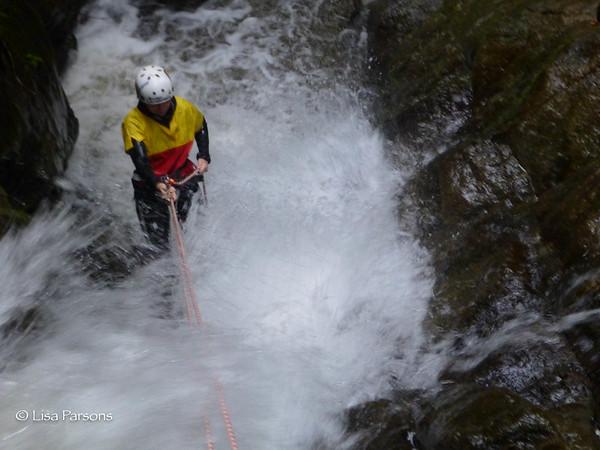 Canyoneering in Banos