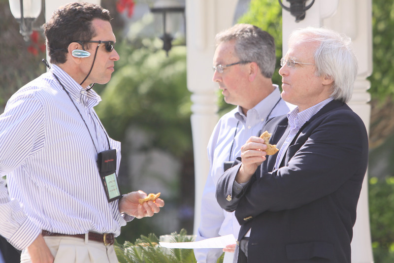 (L-R) Lorenzo Mejia, Senior EVP and CFO, FiReStarter company SIMtone; Mark Thiele, Director of Business Operations for R&D, VMware; and Ambassador Dennis Hays, VP, Director of Government Relations, and Secretary, Thorium Power