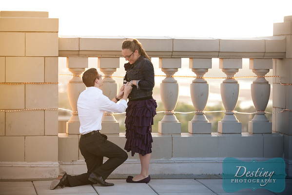 Justin and Shelby's Proposal Pix