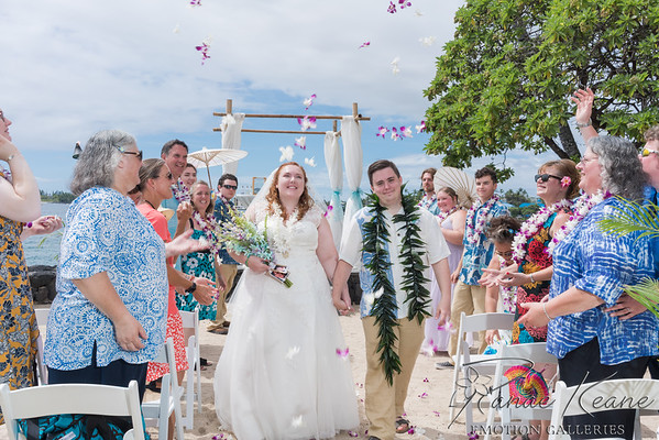 190901 Katie Latimer and David Poulton Royal Kona Resort Wedding