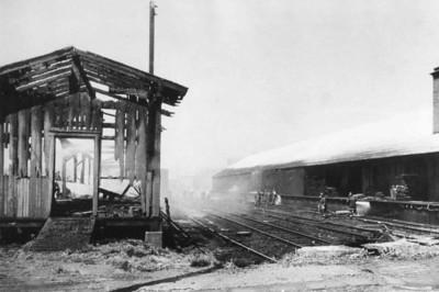 4.20.1968 - 5th & Willow Street, Pennsylvania Railroad Freight Station