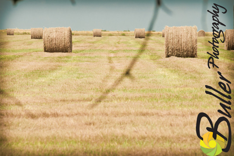 SO Ranch - Hay baling in the hot August sun