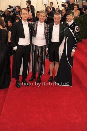 Neil Patrick Harris, David Burtka, guest, Ana Duong