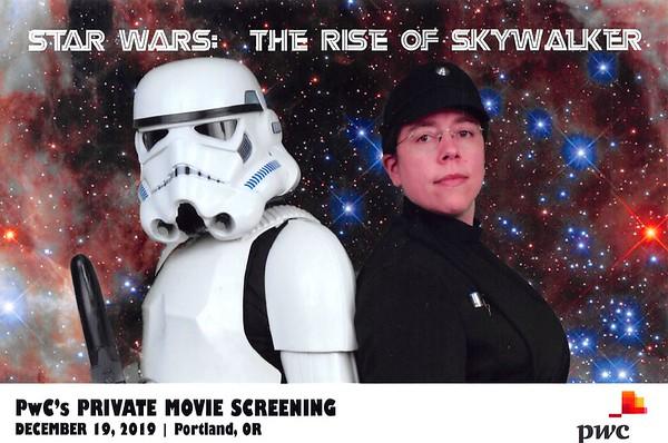 PwC's private screening