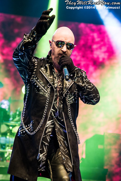 Judas Priest <br> October 14, 2014 <br> Tsongas Center - Lowell, MA <br> Photos by: Jeff Palmucci