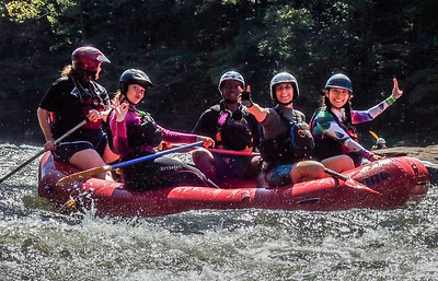 2017-09-23 Lower Gauley, Girls/z Gone Gauley