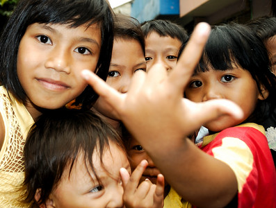 "Real People- Jakarta Kampung (""village"") October 2007"