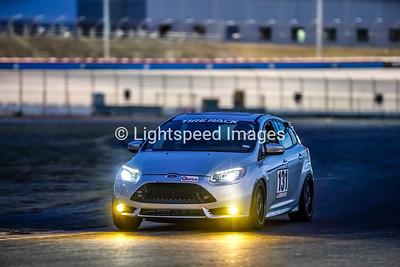 #131 Brian Henderson - Silver Ford Focus ST