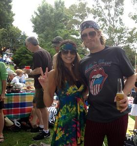 7-28-13 Woodstock Concert in Park