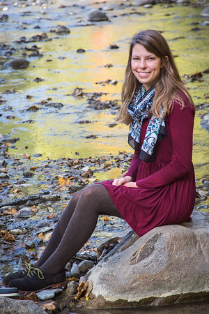 Josie's Senior Portrait Session    October 10,  2015   Ledges State Park