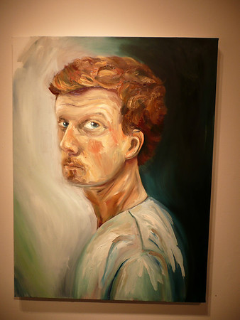 Michael's Senior Art Show - PLNU