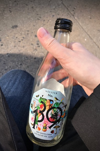 Excellent well balanced cider I wish I had bought more of - Wolffer No. 139 made in the Hamptons from New York apples