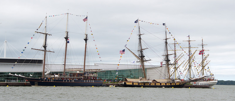 Tall Ships, Erie PA, 2013