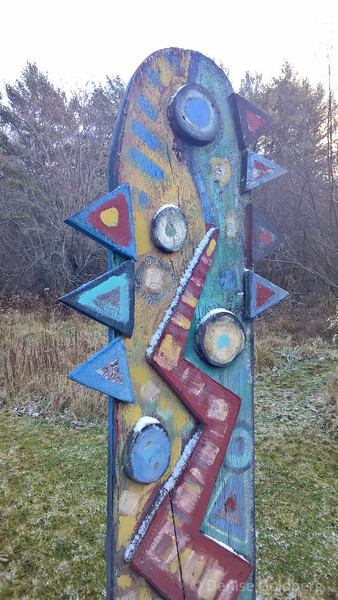 at Davistown Museum Hulls Cove Sculpture Garden