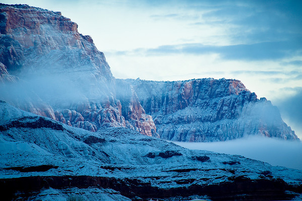 Vermillion Cliffs Snow