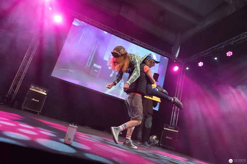 Cosplay Contest auf der AniNite 2018
