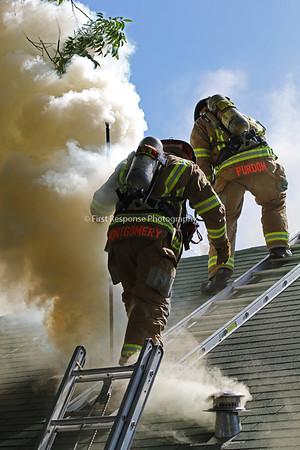 Dorsey St. Structure fire. McKinney TX.