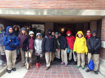 2014 5th Grade at Robie House