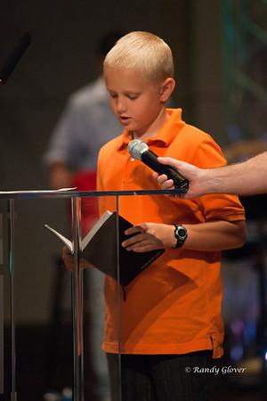 Benjamin Bible Reading