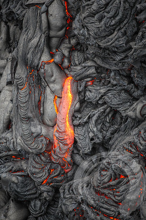 Lava Surface Breaks
