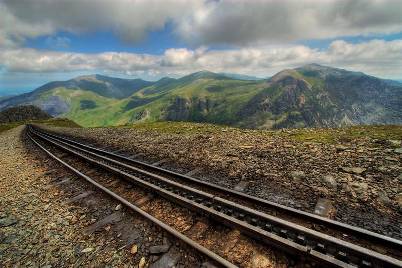Railway to Mt. Snowden.