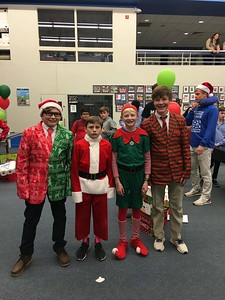 7th Grade Holiday Social