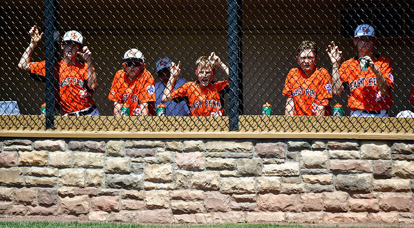 8/4/2019 Mike Orazzi | Staff Members of the East Pennsboro Little League team during their opening round game of the Little League Mid-Atlantic regional in Bristol on Sunday.