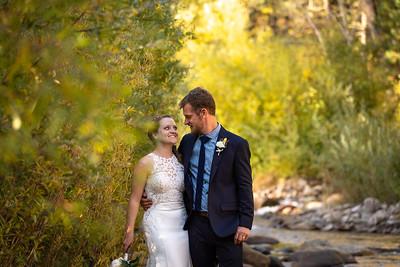 Brush Ranch River Lodge Wedding