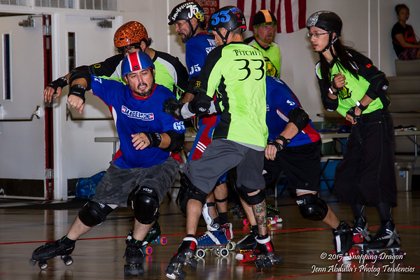AZMD Dangerzone v The Sting 8-2015