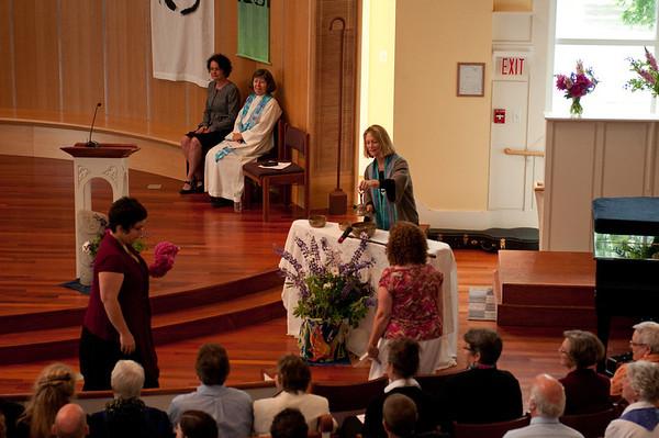 Lynne's Ordination
