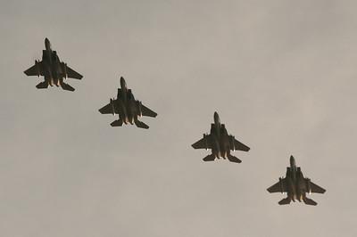 USAF F15's arriving in Darwin