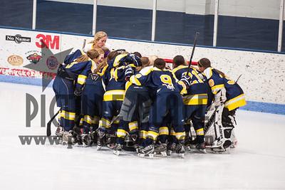 MHS girls Hockey Vs. Champlin