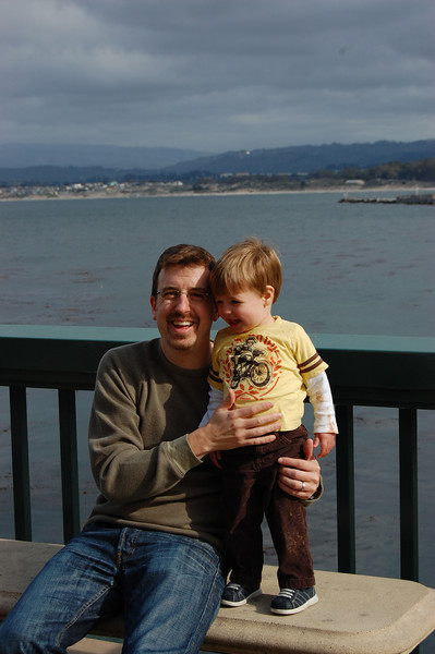 Dale and Elliot in Monterey