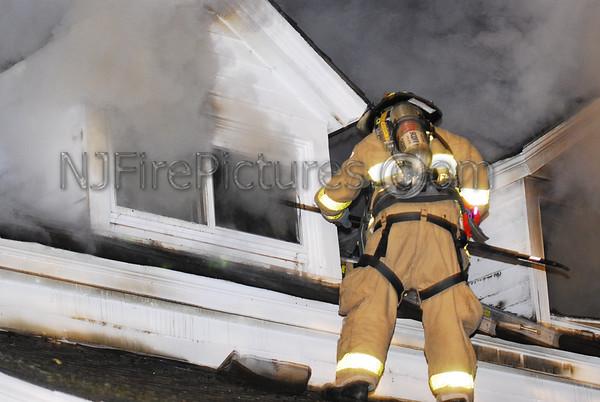 Mendham, NJ House Fire 80 Ironia Road November 8, 2009