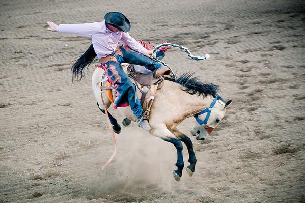 Cody, Wyoming Night Rodeo