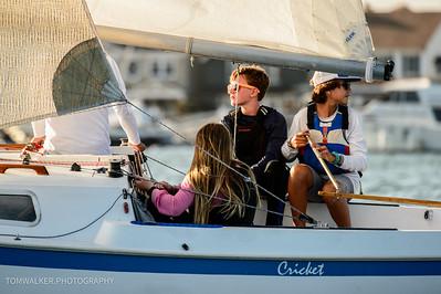 Balboa Yacht Club  Beer can Race 08-13-15
