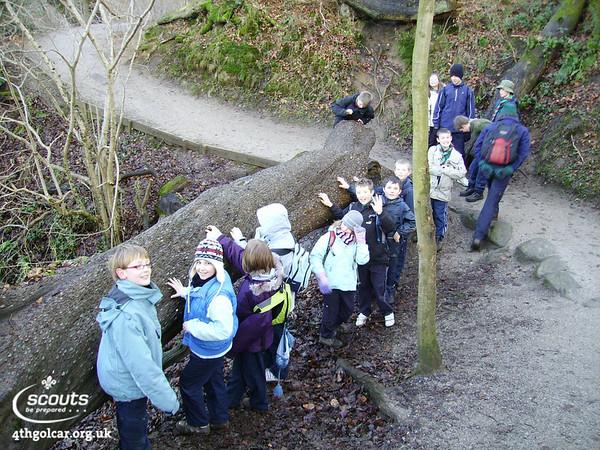 January - Kettlewell Camp