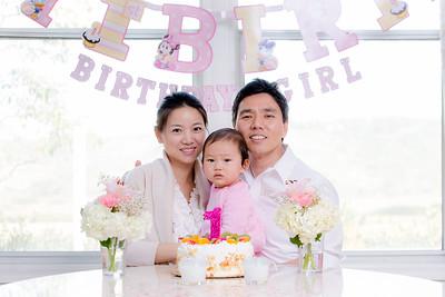 021416 - Baby Isabel 1st Birthday