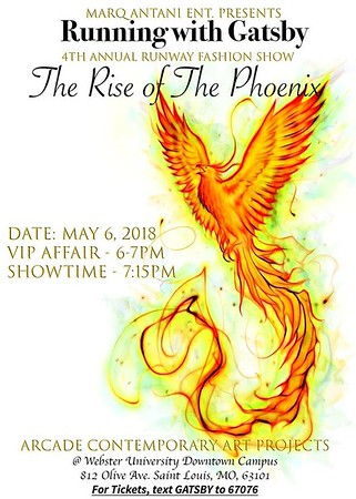 Chuck Pfoutz Presents: The Rise Of The Phoenix Fashion Show 2018