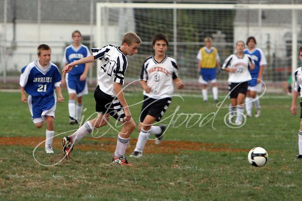 Jr Hi Soccer  9/20/2008